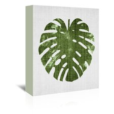 Tropical Leaf 1 Graphic Art on Wrapped Canvas