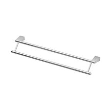 "Bleu Double 24"" Wall Mounted Towel Bar"
