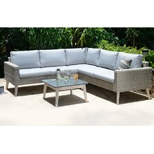 Copenhagen 5 Seater Sectional Sofa Set with Cushions