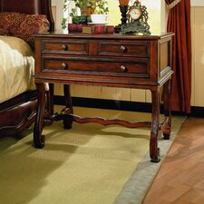 Chambord 3 Drawer Nightstand by Eastern Legends