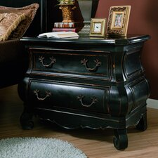 Liege 2 Drawer Nightstand by Eastern Legends