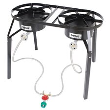 Dual Burner Outdoor Stove