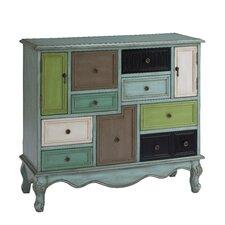 Freemanstown 9 Drawer 2 Door Cabinet