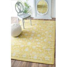 Allenhurst Yellow Indoor/Outdoor Area Rug
