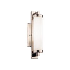 Jervis 1-Light Wall Sconce in Polished Chrome