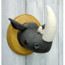 Rhino Faux Taxidermy 3D Wall Décor
