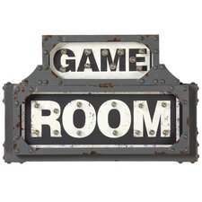 Game Room Wall Décor