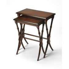 Creedmoor 2 Pieces Nesting Tables by Bay Isle Home