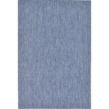 Ivie Blue Indoor/Outdoor Area Rug