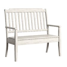 Back Bay Wood Storage Entryway Bench by Three Posts