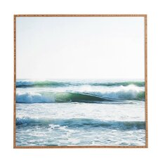 Ride Waves Framed Wall Art