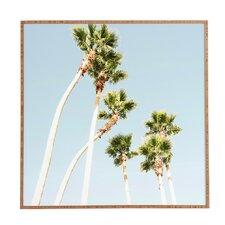 Beach Palms Framed Wall Art