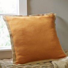 Shayna Jute Trim Pillow Cover