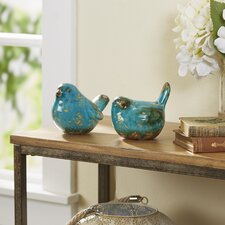 Cerulean Bird Figurines