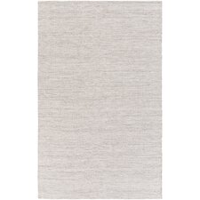 Holmes Hand-Woven Dark Brown/White Area Rug