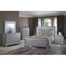 Panel 4 Piece Bedroom Set