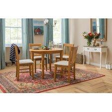 Essgruppe Lincklaen mit ausziehbarem Tisch und 4 Stühlen