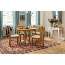Lincklaen Extendable Dining Set with 4 Chairs