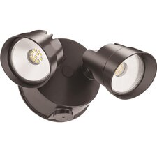 Outdoor Integrated LED Twin Head Flood Light