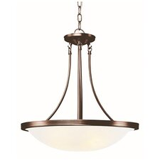 3-Light Large Inverted Pendant