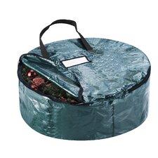 Premium Holiday Christmas Wreath Storage Bag
