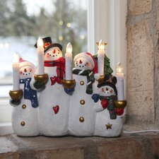 Snowman and Co. 5 Light Lamp