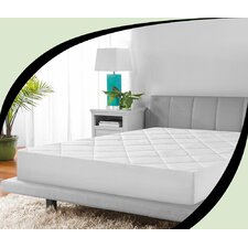 Microshield Quilted Antimicrobial Mattress Pad
