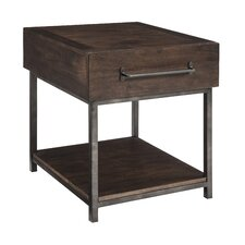 Jonah End Table by 17 Stories