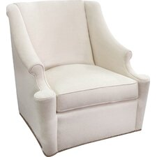 Lainey Swivel Wing back Chair by Gabby