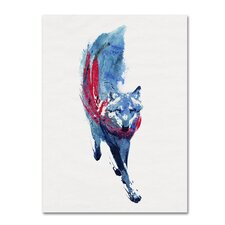 Lupus Lupus by Robert Farkas Graphic Art on Wrapped Canvas by Trademark Fine Art