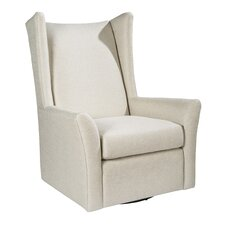 Kent Swivel Wingback Chair by Palatial Furniture