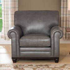 Stafford Leather Club Chair by Westland and Birch