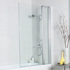 140cm H x 100cm W Hinged Bath Screen