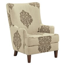 Tallmadge Damask Armchair by Darby Home Co