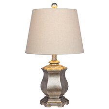 "Abigail 21"" Brown Table Lamp"