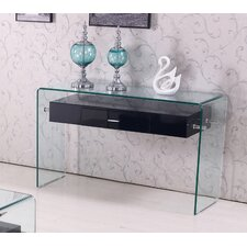 Glass Top Console Table by Best Quality Furniture