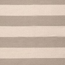 Atkins Gray Striped Area Rug