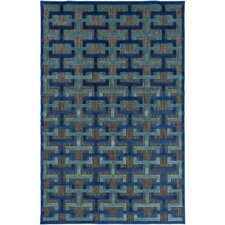 Vaught Black Indoor/Outdoor Area Rug