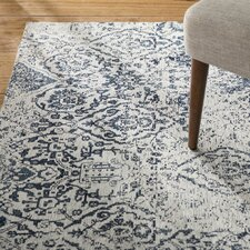 Portleven Ivory/Navy Area Rug