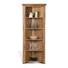 Fresno 77 Corner Unit Bookcase by Loon Peak