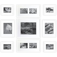 Gallery Perfect 9 Piece Picture Frame Set