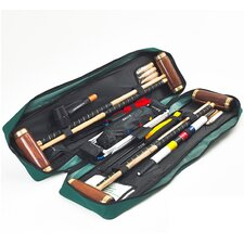 Hurlingham 4 Player Croquet Set with a Tool Kit Bag