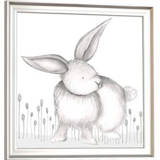 Forest Riley Rabbit Framed Art
