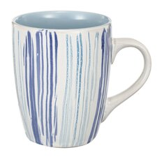 Valeria Hand Painted Ceramic Coffee Mug