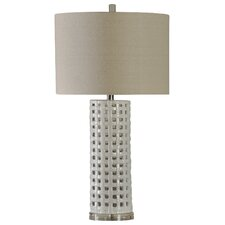 "Derby Basket Weave 33"" Table Lamp"