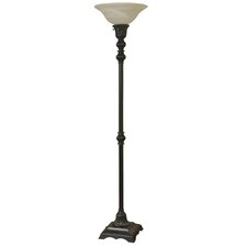 "Boulevard 73"" Torchiere Floor Lamp"