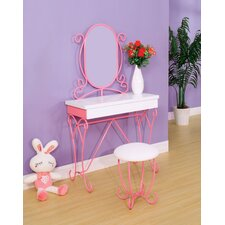 Zachary Fairy Tale Vanity Set with Mirror