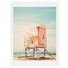 Beach Tower 5 Photographic Print