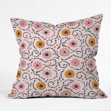 Holli Zollinger Suzani Throw Pillow by East Urban Home