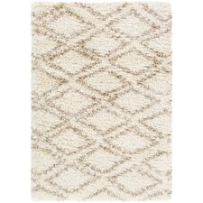 Hutchinson Rectangle Neutral/Yellow Area Rug